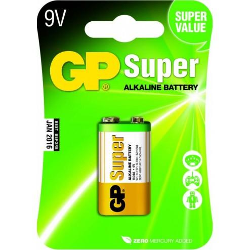 GP Super 9V blok, blister 1