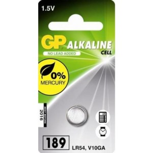 GP Alkaline knoopcel 189 (V10GA / L1130), blister 1