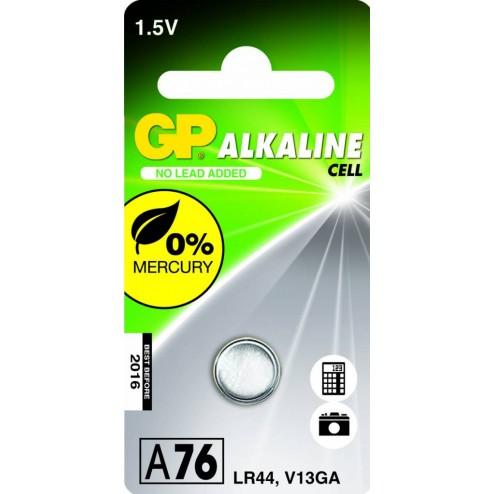 GP Alkaline knoopcel LR44 76A (V13GA / L1154)