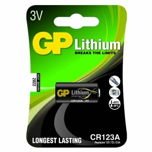 GP Photo Lithium CR123A (DL123A), blister 1