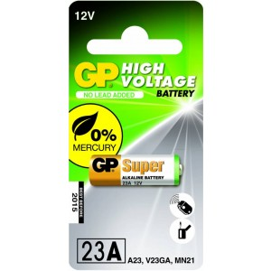 GP Hoog voltage alkaline rondcel 23A (MS21 / MN21), blister 1