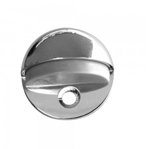 QlinQ deurbuffer vloermodel mat chroom 45 mm