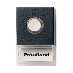Friedland beldrukker Pushlite D723 zwart