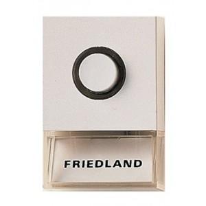 Friedland beldrukker Pushlite D723W wit