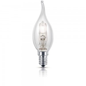 Philips EcoClassic halogeenkaarslamp 230 V 28 W E14 lichtkleur warm wit