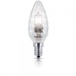 Philips EcoClassic halogeenkaarslamp 230 V 28 W E14 lichtkleur helder