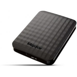 "1,0TB Maxtor M3 Portable 2,5""/Zwart/USB 3.0"