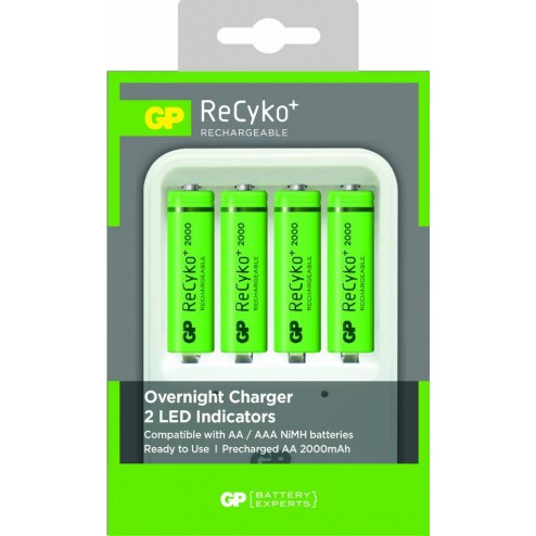 Batterijlader 420GS wit AA