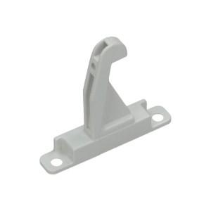 Deurhaak wit -5 cm-