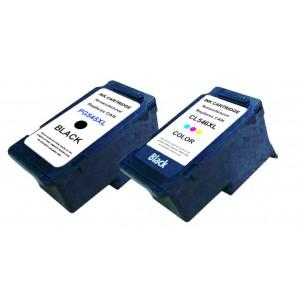 Set huismerk cartridges voor Canon Pg-545XL & CL546XL