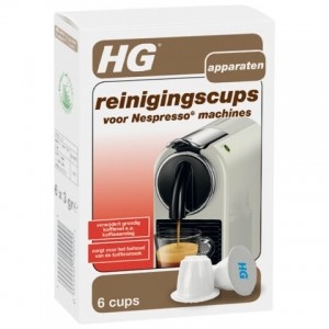 HG reinigingscups voor Nespresso ®