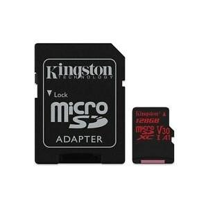 SDHC Card Micro 128GB Kingston UHS-I U3 Canvas React