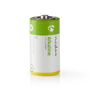 Alkaline batterij C | 1,5 V | 2 stuks | Blister