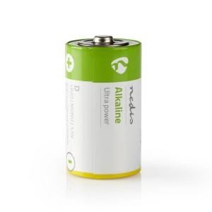 Alkaline batterij D | 1,5 V | 2 stuks | Blister
