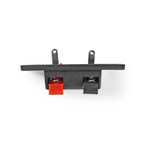 Speaker-Kabel Terminal Board | Voor het aansluiten van luidsprekerdraden | 25 stuks | Zwart