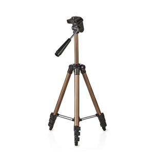 Statief | Pan & Tilt | Max. 1,5 kg | 105 cm | Zwart / zilver