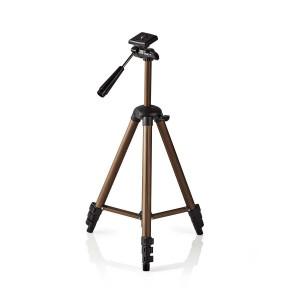 Statief | Pan & Tilt | Max. 2 kg | 130 cm | Zwart / zilver