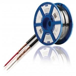 2x 0,14 mm² audiokabel zwart prijs per meter