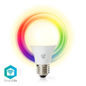 Wi-Fi smart LED-lamp | Full-Color en warm-wit | E27
