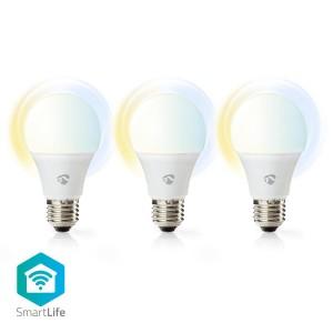 Slimme Wi-Fi-LED-Lampen | Warm- tot Koud-Wit | E27 | 3-Pack