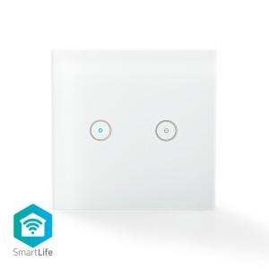 Wi-Fi smart lichtschakelaar | Dubbel