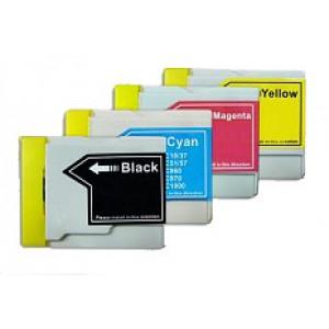 Set cartridges voor Brother LC 1000