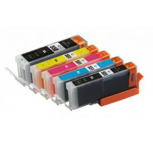 Set cartridges voor Canon PGI 550XL 551XL