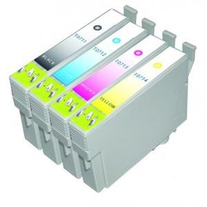 Set cartridges voor Epson T0715