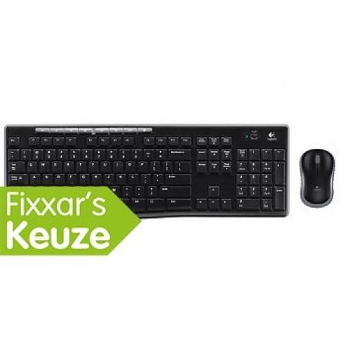 Draadloze set toetsenbord en muis MK270