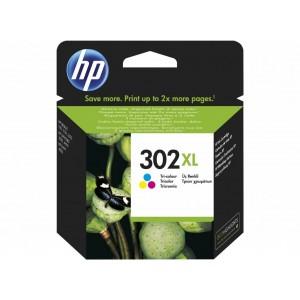 302XL originele high-capacity drie-kleuren inktcartridge