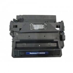 Alternatieve toner  voor de  HP  CE255X 55X