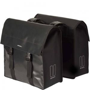 Basil dubb tas Urban load zwart