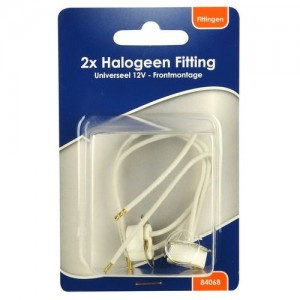 BLS 2x halogee fitting 12V +frontmontage