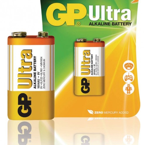 Alkaline Batterij 9 V Ultra 1-Blister