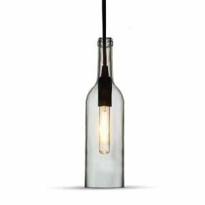Fleshanglamp Transparant E14