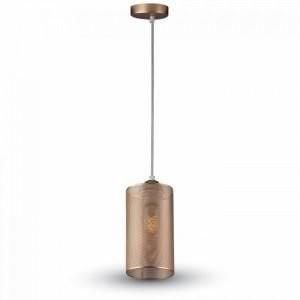 Hanglamp 130 champange goud met E27 fitting