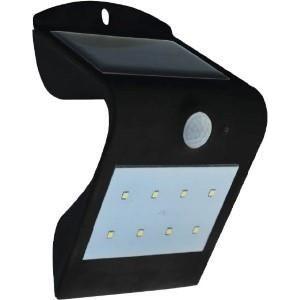 LED solarlamp 1,5W 4000K+3000K zwart IP65
