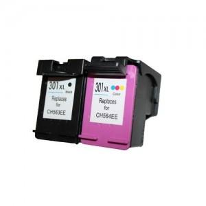Set huismerk cartridges voor HP 301XL