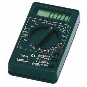 Soundex digitale multimeter DM 25