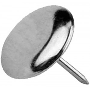 Glijnagel vernikkeld 20mm (8)QlinQ