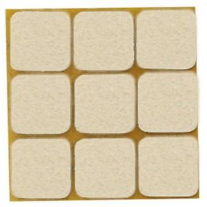 QlinQ anti-krasvilt dub. pak wit 25 x 25 mm