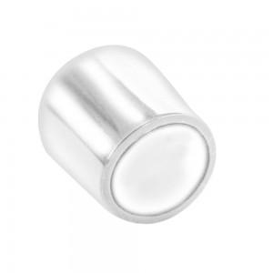 QlinQ pootdop omsteek rond wit 10 mm 4 stuks