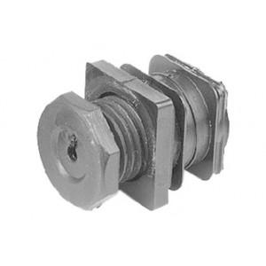 QlinQ pootdop insteek vierkant 25 mm 2 stuks
