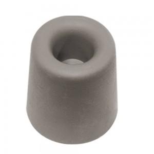 QlinQ deurbuffer grijs rubber 50 x 35 mm
