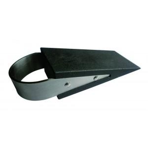 Verlofix deurwig rvs rubber