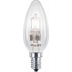 Philips EcoClassic halogeenkaarslamp 230 V 18 W E14 lichtkleur helder