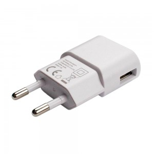 Grab 'n Go 1.0 Amp Single USB Wall Charger White