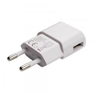 Grab 'n Go 1.0 Amp Single USB Wall Charger White