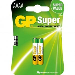 GP Alkaline AAAA LR61 1,5V