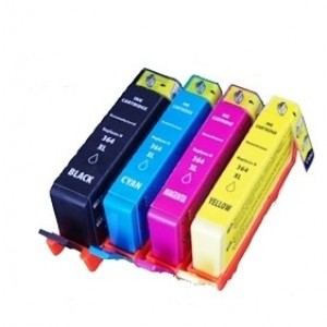 Set cartridges voor HP 364 XL